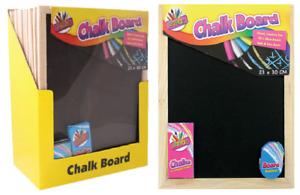 Artbox Chalk Board 23 x 30 cm Set A4 + Chalks Board & Eraser Rubber