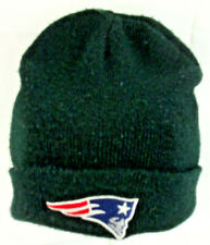 New England Patriots NFL Black Beanie Knit Cap Hats Logo City Hunter