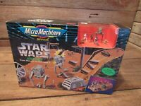 "MICRO MACHINES STAR WARS ""ENDOR"" RETURN OF THE JEDI PLAYSET 1993 - NEW"