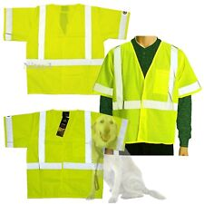 Mike Rowe Works Dirty Jobs High-Visibility Safety Vest Men Large