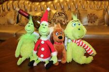 Nuevo Dr Seuss the Grinch Stole y perro How Peluche Juguete Regalo De Navidad 4 un.