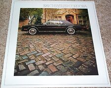 1981 Chrysler Cordoba Sales Brochure - Mint!