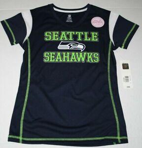 Seattle Seahawks NFL Team Apparel Girls Youth Size L-14 #89 Baldwin Jersey NWT.