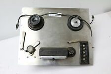 VINTAGE Ampex Series 400 Magnetic Tape Recorder Mono Record Head Stereo Playback