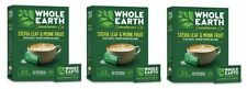 Whole Earth Stevia Leaf & Monk Fruit Packets 3 Pack