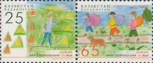 2007 Kazakhstan Europa CEPT Centenary of the Scout Movement MNH