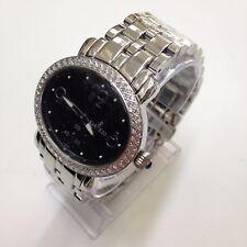 SARTEGO Women's Diamond Collection Black Dial Swiss Quartz Watch SDBK061S