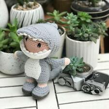 Handmade Crocodile dolls - Special crochet baby toys -  thebunny.gift