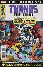 THANOS THE FIRST #1 (2018) IRON MAN #55 Reprint 1st App Thanos & Drax NM B157