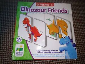 The Learning Journey My First Match It! - Dinosaurs, Toys & Gaems
