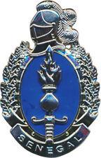 Gendarmerie SENEGAL, résine, dos grenu plat, 2 pontets, Boussemart (7721)