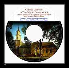 Colonial Churches in Virginia - History & Genealogy