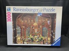 "NEW Ravensburger Sanctuary Of Knowledge 1000 Piece Jigsaw Puzzle 27""x 20"" 2009"