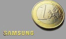 SAMSUNG METALISSED GOLD EFFECT STICKER LOGO AUFKLEBER 20x3mm [623]