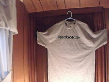 Reebok t-shirt S/S gray w/ solid green reebok and one part blue swash XL/TG NWT
