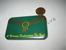 OLD BREEDERS SWEEPSTAKES ULTRA A WINNING COMBINATION FOR YOU PINBACK PIN HORSE
