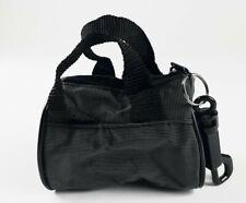 "Grey & black Key Chain Mini Duffle Bag 3x1.5"" Keychain brand new"
