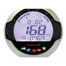 Compteur digital lcd mutlifonctions d64 gp style rond universel Koso BB642W10
