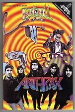 ROCK 'N ROLL COMICS #24 featuring ANTHRAX - STUART IMMONEN ART - 1991