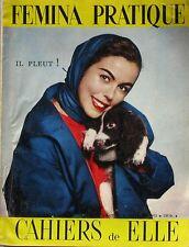 Femina pratique n°50 - 1955 - Cahiers de ELLE- La fourrure - La Migaline -