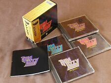 THIN LIZZY Great Box JAPAN-ONLY 4CD BOX w/Obi+57p Booklet PHCR-3113~16