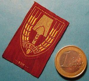 1941 DUTCH ARBEIDSDIENST Cap badge NAD / NSB rare original - ICK DIEN - BeVo