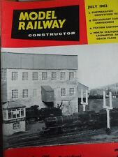 Model Railway Constructor 7 1962
