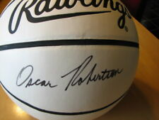 OSCAR ROBERTSON Signed NCAA Final Four Basketball -JSA Authenticated #G93499