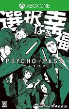 Xbox One PSYCHO-PASS Premium disk limited edition Decal Japan Import F/S