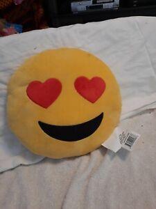 """13"""" Emoji Emoticon Cushion Pillow Stuffed Soft"""