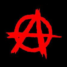 ANARCHIE LOGO #1 Patch / Aufnäher NEU Punk Punkrock Anarchy Chaos Rebellion