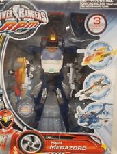 Power Rangers RPM Mach Megazord Bandai 3 Zords Combine Tiger (Re-Tied In Box)
