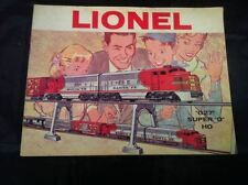 "1960 Lionel Train Catalog Booklet ""027"" Super ""0"" & HO"