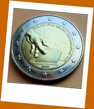2 Euro Gedenkmünze Malta 2011 - Wahl der ersten Abgeordneten 1849 - Neu