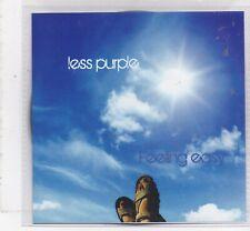 Les Purple-Feeling Easy Promo cd single