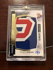 15/16 UD Premier Mega Chest Logos Derek Stepan Hockey Card PMP-DS 17/17