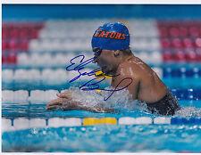 Elizabeth Beisel Signed 8.5x11 Inch Photo USA Swimming Olympics 2016 Rio Olympic