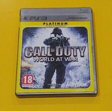 Call Of Duty World At War GIOCO PS3 VERSIONE ITALIANA