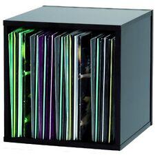 "Black Glorious DJ 110x 12"" Vinyl Record Box Storage Case for Studio/Home"