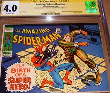 Amazing Spider-Man 42 CGC SS SIGNED Stan Lee Romita Esquire Eye Mag Mini Reprint