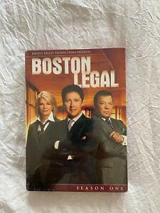 Boston Legal - Season 1 (DVD, 2009, 5-Disc Set) - Brand New