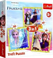 Trefl 20/36/50 Piece 3 in 1 Kids Jigsaw Puzzle Frozen 2