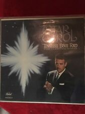 Vintage Traditional Christmas Records; Bing Crosby,Tennessee ErnieFord;Lot Of 20