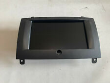 Peugeot 407 Coupe Monitor Navigationssystem Navi Display 9660361080