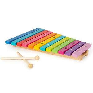 boppi Wooden Musical Kids Classic Xylophone Music Toy Children New