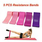 5 PCS Resistance Bands Fitness Power Yoga Strength Exercise Gym Crossfit Loop
