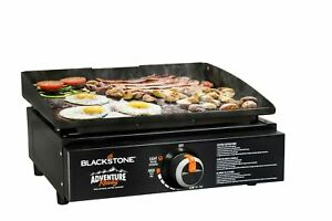 """17"""" Grill Tabletop Cooking Stove Top Burner Flat Top Camping Tailgate Portable"""