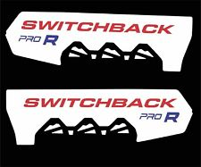 POLARIS RUSH PRO R switchback  600 800 120 136 SHORT TUNNEL DECAL red retro whit