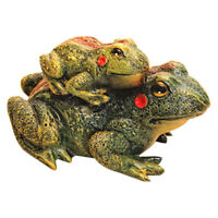 Frog Lawn Decor Garden Statue Yard Decorations Feng Shui Sculpture Animal Toad