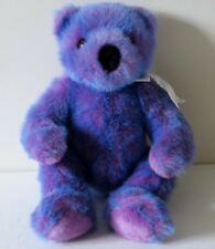 Ty 1999 Purple 16 Inches Bear Stuffed Animal Plush Toy